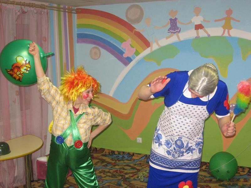 Детские праздники с карлсоном